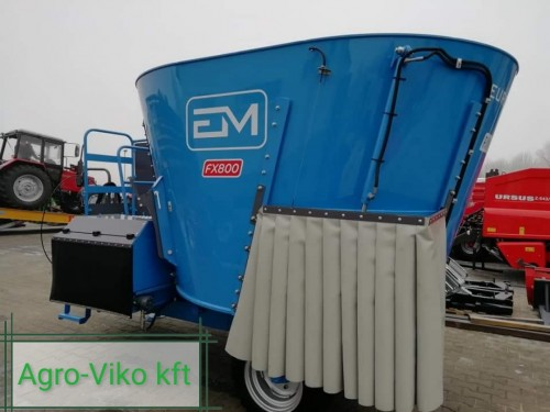 Etetőkocsi Euromilk fx800